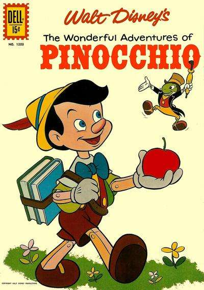 Pinocchio #4 comic books - cover scans photos Pinocchio #4 comic books - covers, picture gallery