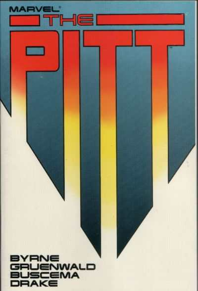 Pitt #1 comic books - cover scans photos Pitt #1 comic books - covers, picture gallery