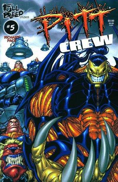Pitt Crew #5 Comic Books - Covers, Scans, Photos  in Pitt Crew Comic Books - Covers, Scans, Gallery