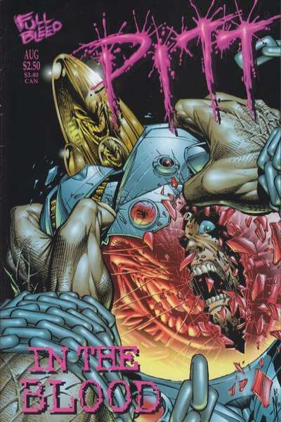 Pitt in the Blood #1 comic books for sale
