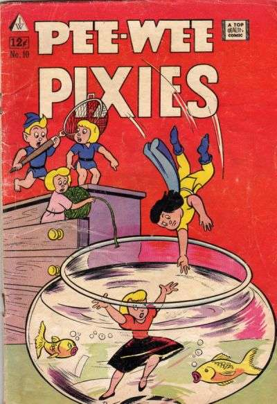 Pixies #10 comic books - cover scans photos Pixies #10 comic books - covers, picture gallery