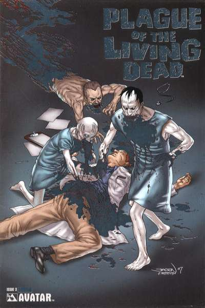 Plague of the Living Dead #3 comic books for sale