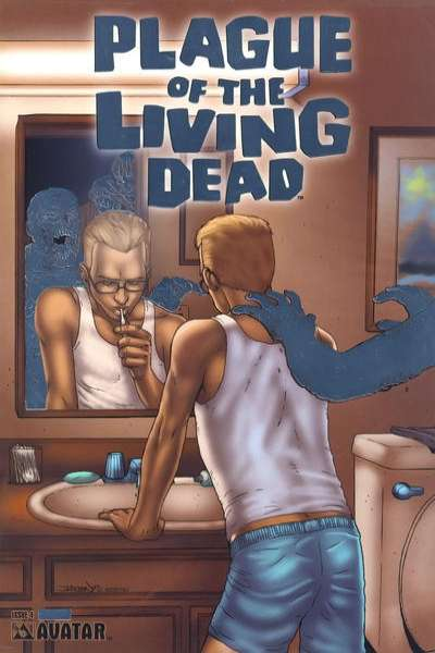 Plague of the Living Dead #4 comic books for sale