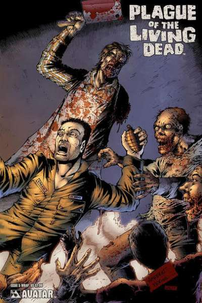 Plague of the Living Dead #5 Comic Books - Covers, Scans, Photos  in Plague of the Living Dead Comic Books - Covers, Scans, Gallery
