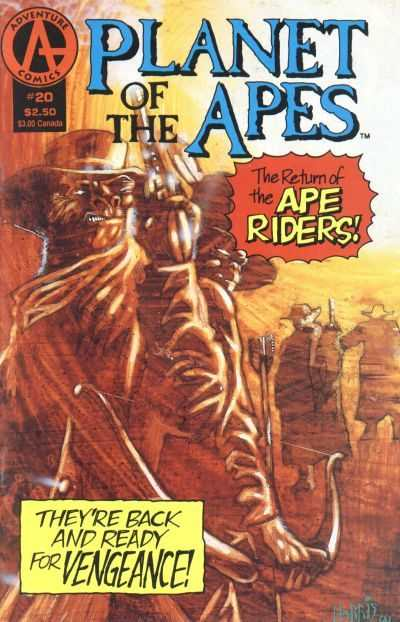 Planet of the Apes #20 Comic Books - Covers, Scans, Photos  in Planet of the Apes Comic Books - Covers, Scans, Gallery