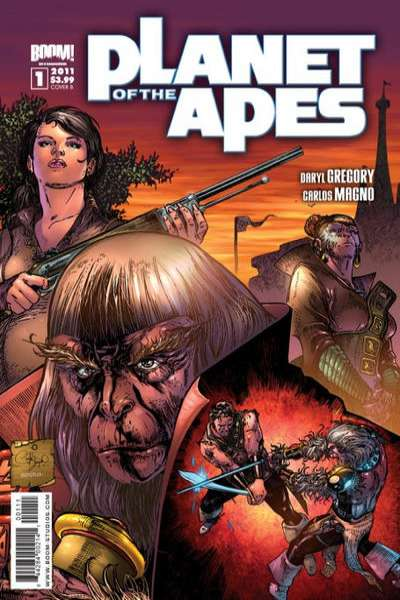 Planet of the Apes comic books