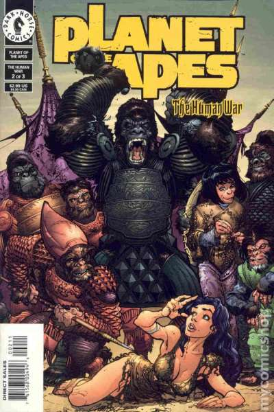 Planet of the Apes: The Human War #2 Comic Books - Covers, Scans, Photos  in Planet of the Apes: The Human War Comic Books - Covers, Scans, Gallery