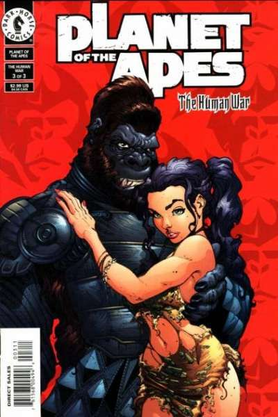 Planet of the Apes: The Human War #3 Comic Books - Covers, Scans, Photos  in Planet of the Apes: The Human War Comic Books - Covers, Scans, Gallery