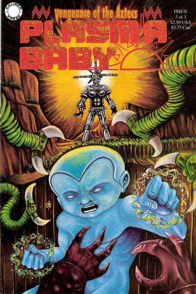 Plasma Baby #3 comic books - cover scans photos Plasma Baby #3 comic books - covers, picture gallery