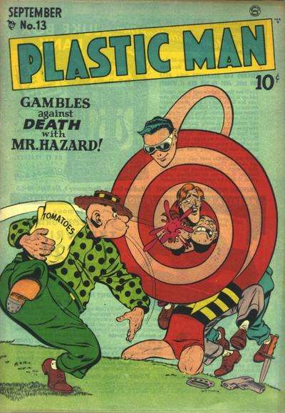 Plastic Man #13 Comic Books - Covers, Scans, Photos  in Plastic Man Comic Books - Covers, Scans, Gallery