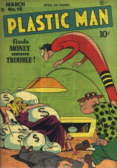 Plastic Man #16 Comic Books - Covers, Scans, Photos  in Plastic Man Comic Books - Covers, Scans, Gallery