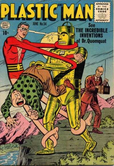 Plastic Man #54 Comic Books - Covers, Scans, Photos  in Plastic Man Comic Books - Covers, Scans, Gallery