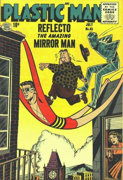 Plastic Man #63 Comic Books - Covers, Scans, Photos  in Plastic Man Comic Books - Covers, Scans, Gallery