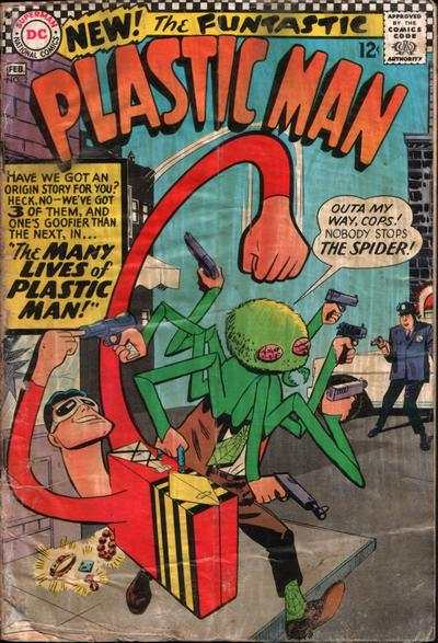 Plastic Man #2 Comic Books - Covers, Scans, Photos  in Plastic Man Comic Books - Covers, Scans, Gallery