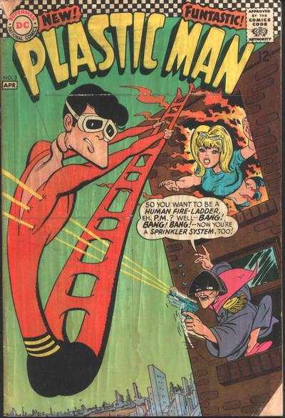 Plastic Man #3 comic books - cover scans photos Plastic Man #3 comic books - covers, picture gallery
