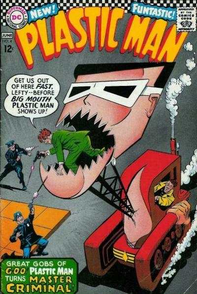 Plastic Man #4 Comic Books - Covers, Scans, Photos  in Plastic Man Comic Books - Covers, Scans, Gallery