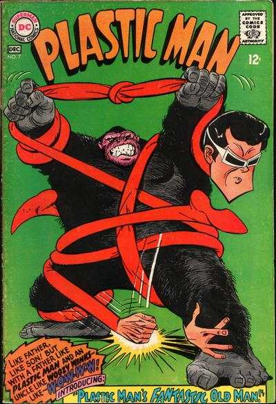 Plastic Man #7 Comic Books - Covers, Scans, Photos  in Plastic Man Comic Books - Covers, Scans, Gallery