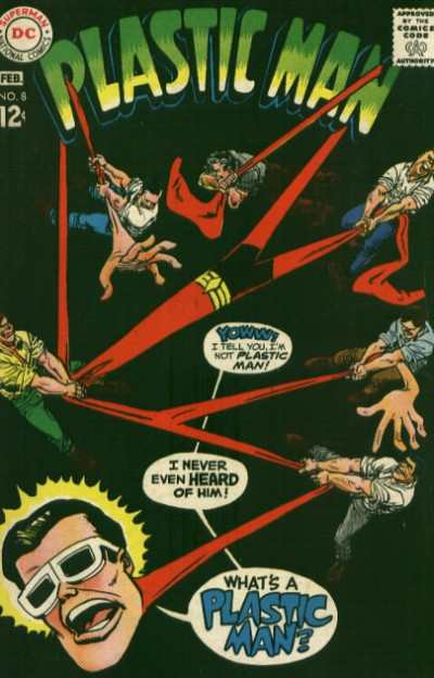 Plastic Man #8 Comic Books - Covers, Scans, Photos  in Plastic Man Comic Books - Covers, Scans, Gallery
