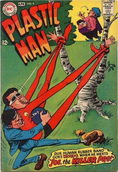 Plastic Man #9 Comic Books - Covers, Scans, Photos  in Plastic Man Comic Books - Covers, Scans, Gallery