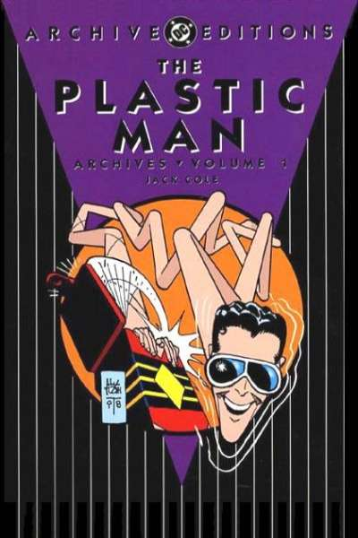 Plastic Man Archives - Hardcover comic books