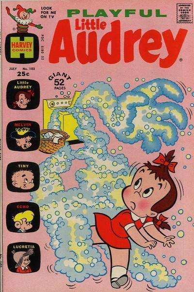 Playful Little Audrey #102 comic books for sale