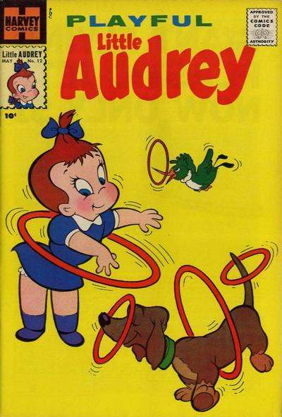 Playful Little Audrey #12 Comic Books - Covers, Scans, Photos  in Playful Little Audrey Comic Books - Covers, Scans, Gallery
