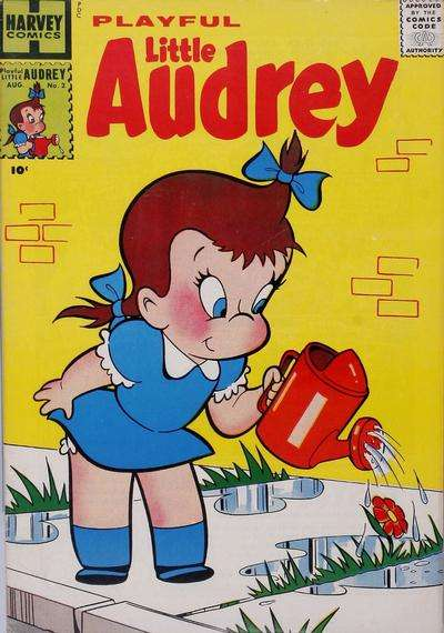 Playful Little Audrey #2 comic books - cover scans photos Playful Little Audrey #2 comic books - covers, picture gallery