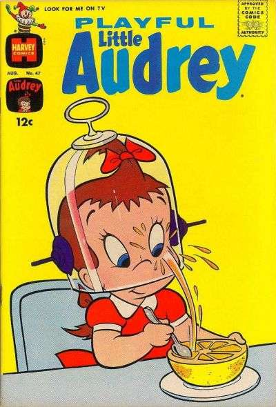 Playful Little Audrey #47 Comic Books - Covers, Scans, Photos  in Playful Little Audrey Comic Books - Covers, Scans, Gallery