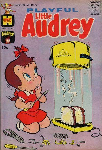 Playful Little Audrey #53 comic books for sale