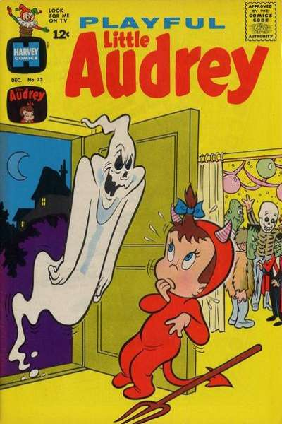 Playful Little Audrey #73 Comic Books - Covers, Scans, Photos  in Playful Little Audrey Comic Books - Covers, Scans, Gallery