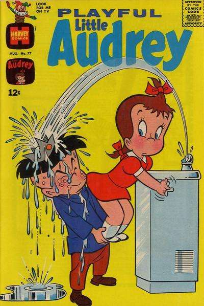 Playful Little Audrey #77 comic books - cover scans photos Playful Little Audrey #77 comic books - covers, picture gallery