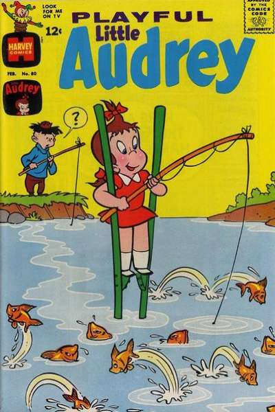 Playful Little Audrey #80 Comic Books - Covers, Scans, Photos  in Playful Little Audrey Comic Books - Covers, Scans, Gallery