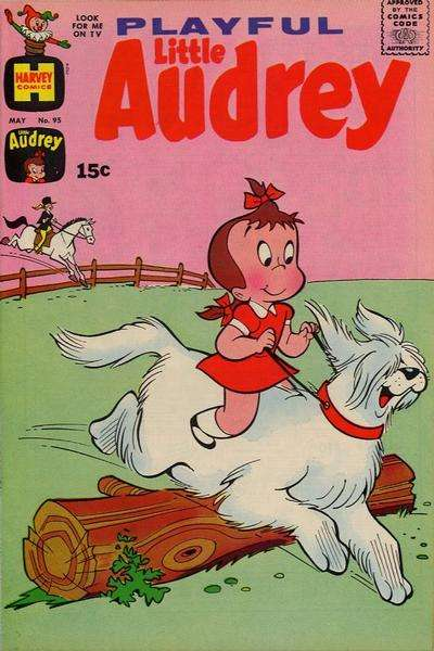 Playful Little Audrey #95 Comic Books - Covers, Scans, Photos  in Playful Little Audrey Comic Books - Covers, Scans, Gallery