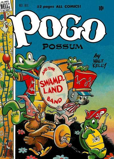 Pogo Possum #1 Comic Books - Covers, Scans, Photos  in Pogo Possum Comic Books - Covers, Scans, Gallery