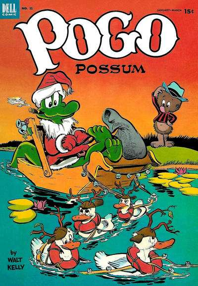 Pogo Possum #11 comic books - cover scans photos Pogo Possum #11 comic books - covers, picture gallery
