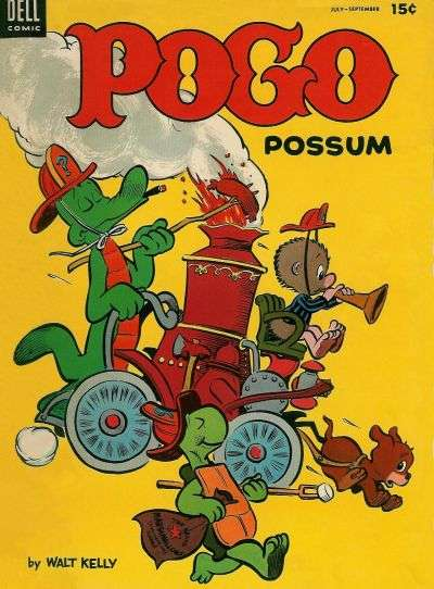 Pogo Possum #13 comic books - cover scans photos Pogo Possum #13 comic books - covers, picture gallery