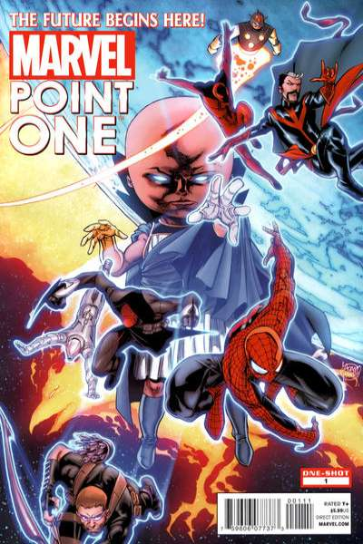 Point One #1 comic books - cover scans photos Point One #1 comic books - covers, picture gallery