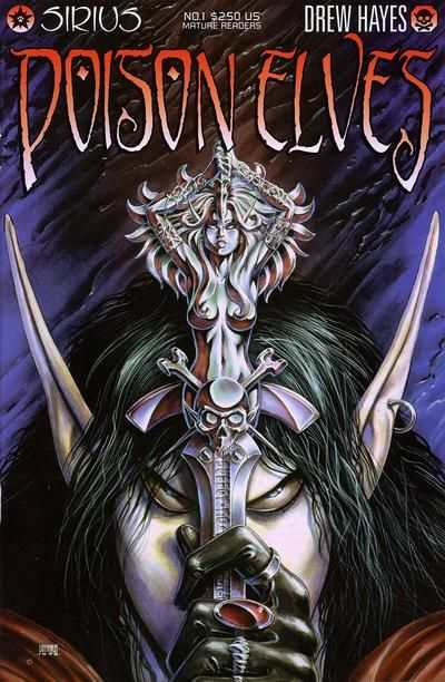 Poison Elves #1 comic books - cover scans photos Poison Elves #1 comic books - covers, picture gallery