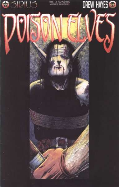 Poison Elves #13 comic books - cover scans photos Poison Elves #13 comic books - covers, picture gallery