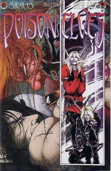Poison Elves #2 comic books - cover scans photos Poison Elves #2 comic books - covers, picture gallery