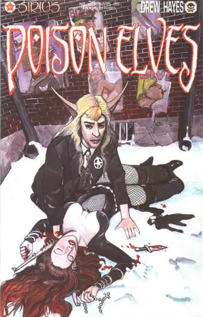 Poison Elves #25 comic books for sale