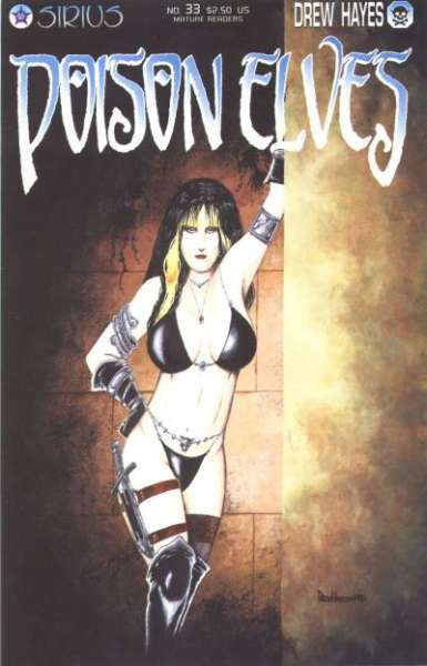 Poison Elves #33 comic books - cover scans photos Poison Elves #33 comic books - covers, picture gallery