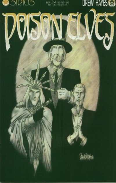 Poison Elves #34 comic books for sale