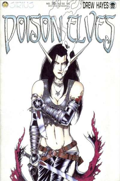 Poison Elves #36 comic books for sale