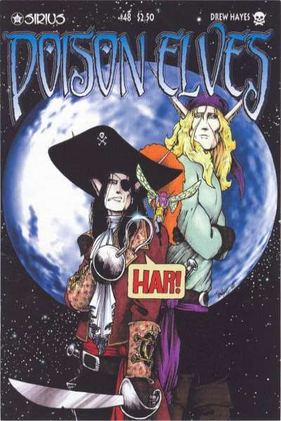Poison Elves #48 comic books for sale