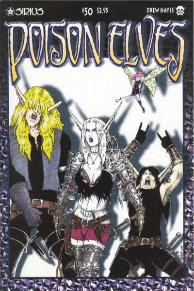 Poison Elves #50 comic books for sale