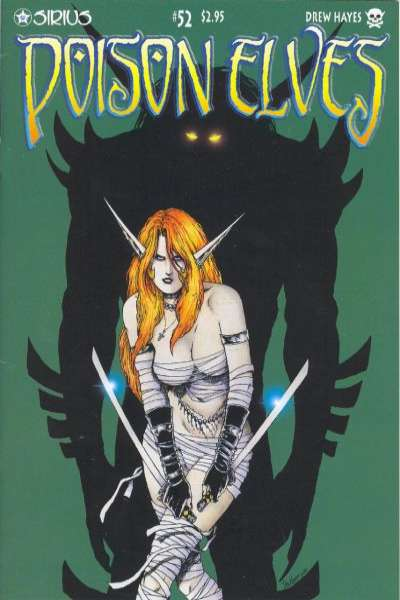 Poison Elves #52 comic books for sale