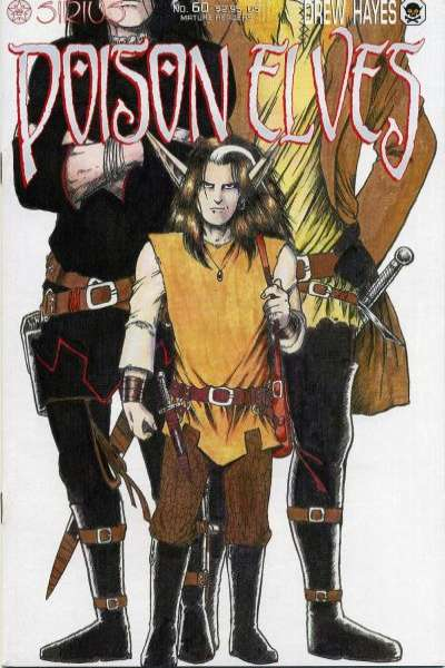 Poison Elves #60 comic books for sale