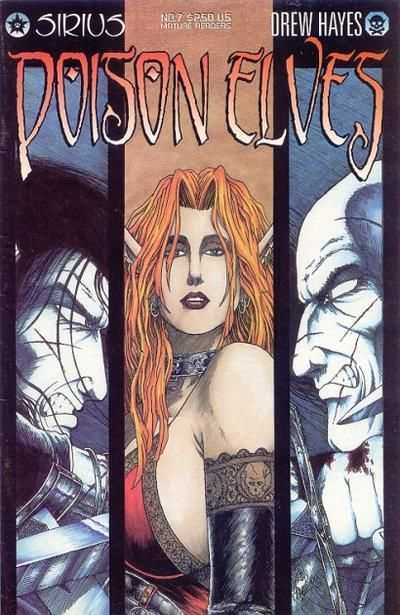 Poison Elves #7 comic books - cover scans photos Poison Elves #7 comic books - covers, picture gallery