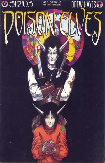 Poison Elves #8 comic books - cover scans photos Poison Elves #8 comic books - covers, picture gallery